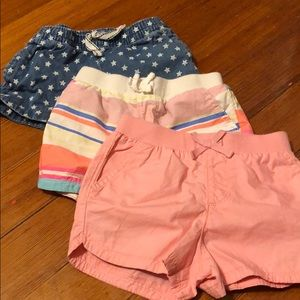 Lot of 3t girls shorts